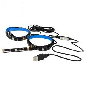 Akcesoria-do-tasm-led - paski led rgb do podświetlenia tv usb tr-usb-l3 309525 polux
