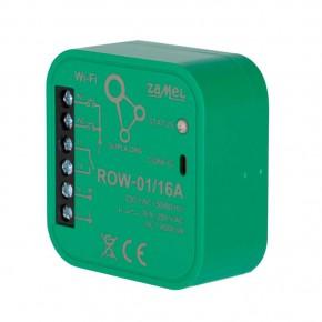 Sterowniki-i-odbiorniki - odbiornik wi-fi jednokanałowy dwukierunkowy row-01 16a supla zamel