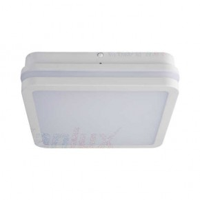 Plafony - plafoniera led w kolorze białym 18w neutralna 4000k ip54 beno nw-l-w kanlux