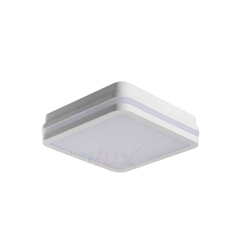Plafony - plafoniera led w kolorze białym 18w neutralna 4000k ip54 beno nw-l-w kanlux firmy