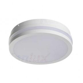 Plafony - okrągła plafoniera led biała o mocy 18w 4000k ip54 1550lm beno nw-o-w 32940 kanlux