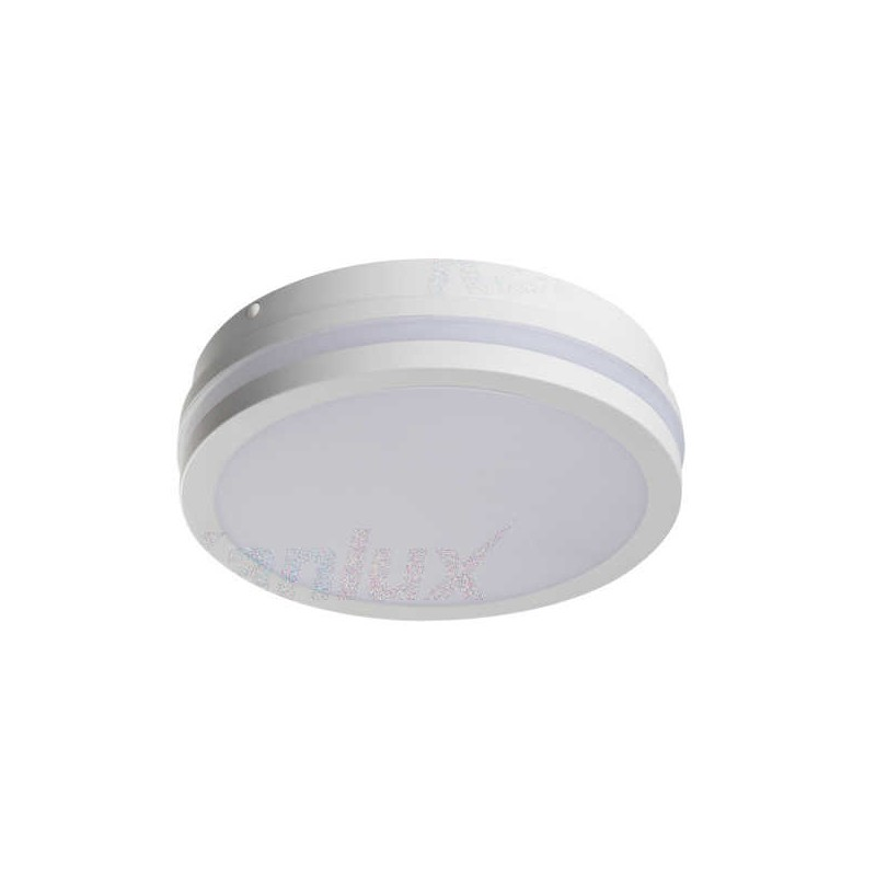 Plafony - plafon led okrągły biały z czujnikiem ruchu 18w 4000k 1550lm beno nw-o-se w 32944 kanlux firmy KANLUX