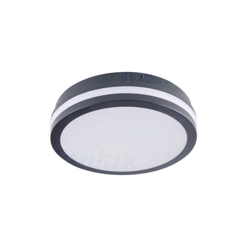 Plafony - okrągły plafon led z czujnikiem ruchu 18w neutralny 4000k ip54 beno nw-o-se gr 32945 kanlux firmy KANLUX