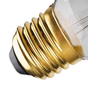 Zarowki-dekoracyjne - dekoracyjna żarówka led z filamentami bursztynowa e27 5w xled globe g125 5w-sw kanlux