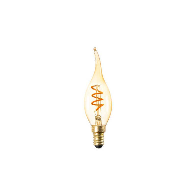 Zarowki-dekoracyjne - żarówka led dekoracyjna płomień z filamentem e14 2,5w 135lm 1800k xled c35t 2,5w-sw kanlux firmy KANLUX