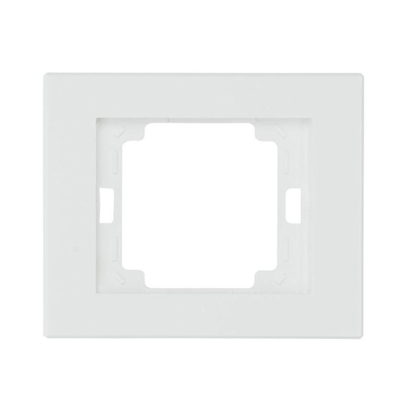 Ramki-pojedyncze - biała ramka pojedyncza onyx ra-10 abex firmy ABEX