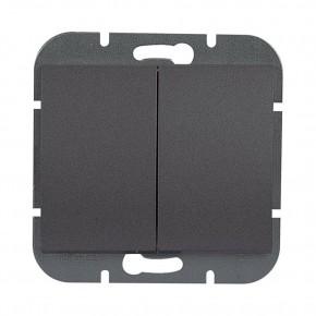 Wylaczniki-podwojne - czarny włącznik podwójny wp-2o onyx 9002198 abex