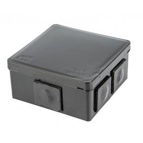 Puszki-natynkowe - puszka natynkowa hermetyczna czarna 002-05 vp-02 viplast