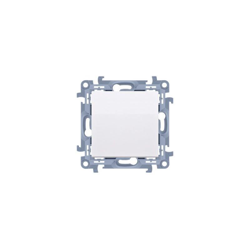 Wylaczniki-jednobiegunowe - włącznik pojedynczy biały cw1.01/11 simon 10 kontakt simon firmy Kontakt-Simon