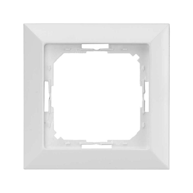 Ramki-instalacyjne - biała ramka do serii perła ra-1p abex firmy ABEX