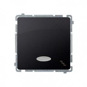 Włącznik schodowy z podświetleniem LED kolor niebieski (moduł) szybkozłączka grafit mat BMW6L.01/28 Simon Basic Kontakt-Simon
