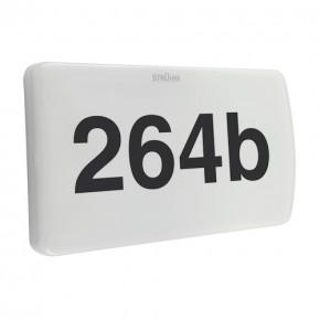 Oprawy-led-zewnetrzne - oprawa zewnętrzna z podświetlanym numerem domu 20w morgan 03778 ideus