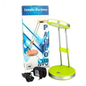 Lampki-biurkowe - lampka na biurko zielona led lb-paolo-41 gtv