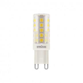 Gwint-trzonek-g9 - żarówka g9 o mocy 4w z ciepłym białym światłem 3000k 360lm bob smd led 03676 ideus