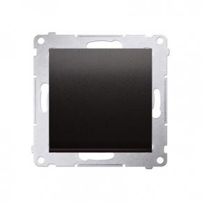 Włącznik jednobiegunowy 10AX antracyt metalizowany DW1.01/48 Simon 54 Kontakt-Simon