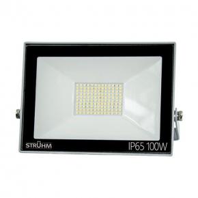 Naświetlacz ledowy o mocy 100w 8000lm IP65 4500K neutralny 120° szary STRUHM 03236 KROMA LED