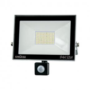 Naswietlacze-z-czujnikiem-ruchu - naświetlacz led z czujnikiem ruchu 50w 6500k ip65 03707 kroma led s ideus