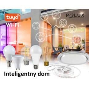 Gwint-trzonek-e27 - dekoracyjna żarówka led z bursztynową bańką i filamentami sterowana telefonem wi-fi e27 5,5w st64 wi-fi smart led 313829 polux
