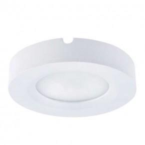 Oprawy-sufitowe - biała oprawa dekoracyjna led z neutralnym światłem 2,2w 4000k iga led c 03522 ideus