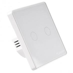 Wylaczniki-podwojne - podwójny włącznik światła dotykowy sterowany smartfonem tuya smart polux