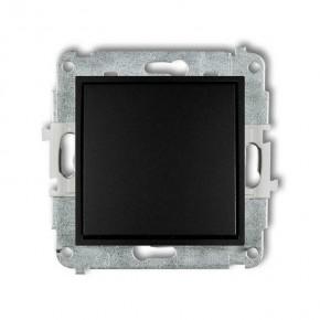 Wylaczniki-jednobiegunowe - czarny matowy włącznik pojedynczy 12mwp-1 deco mini karlik