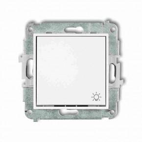 Wylaczniki-typu-swiatlo-zwierne - biały przycisk światło zwierny z piktogramem mwp-5 deco mini karlik