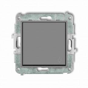 Wylaczniki-typu-swiatlo-zwierne - przycisk światło zwierny z piktogramem szary mat 27mwp-5 deco mini karlik