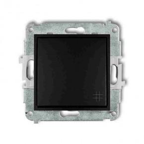 Wylaczniki-krzyzowe - włącznik krzyżowy czarny mat 12mwp-6 deco mini karlik
