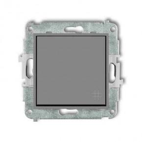 Wylaczniki-krzyzowe - włącznik krzyżowy szary mat 27mwp-6 deco mini karlik