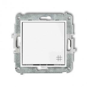 Wylaczniki-krzyzowe - włącznik krzyżowy biały mwp-6 deco mini karlik