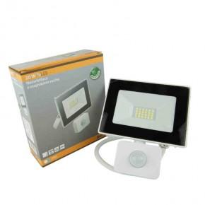 Naswietlacze-z-czujnikiem-ruchu - naświetlacz led biały z czujnikiem ruchu 20w 6400k 1400lm ip65 in-flr20wb-64 innovo