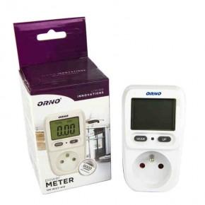 Liczniki-jednofazowe - kalkulator energii - watomierz z wyświetlaczem lcd orno or-wat-419