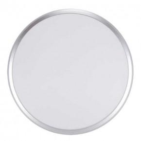 Plafony - hermetyczna plafoniera led w kolorze srebrnym 36w 4000k 3820lm ip54 planar led 03841 ideus