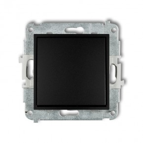 Wylaczniki-typu-swiatlo-zwierne - zwierny włącznik pojedynczy czarny mat 12mwp-4.1 deco mini karlik