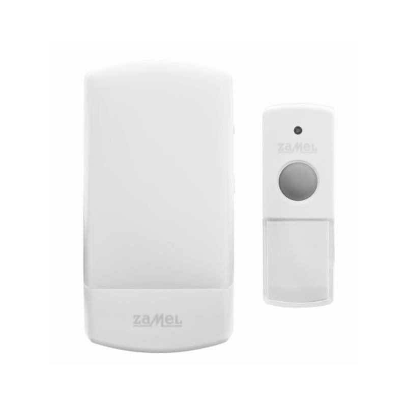 Dzwonki-do-drzwi-bezprzewodowe - dzwonek bezprzewodowy do sieci z funkcją lampki st-330 zamel firmy ZAMEL