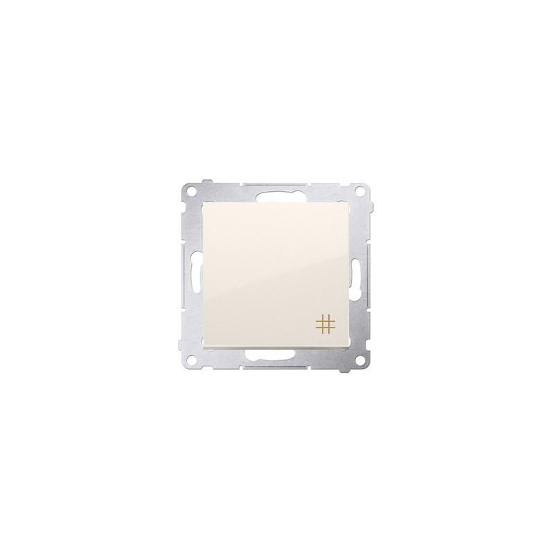 Wylaczniki-krzyzowe - kremowy włącznik krzyżowy 0ax dw7.01/41 simon 54 kontakt-simon firmy Kontakt-Simon