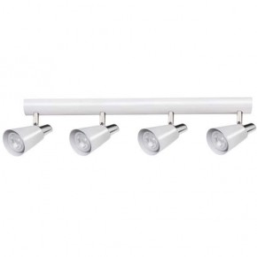 Kinkiety - spot oświetleniowy na cztery żarówki gu10 4x35w el-4i w-sr sempra kanlux