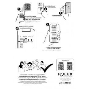 Urzadzenia-zdalnie-sterowane - gniazdo sterowane smartfonem 16a 3600w wi-fi tuyasmart 314178 polux