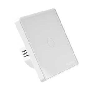 Wylaczniki-jednobiegunowe - włącznik światła pojedynczy sterowany smartfonem tuyasmart 314338 polux