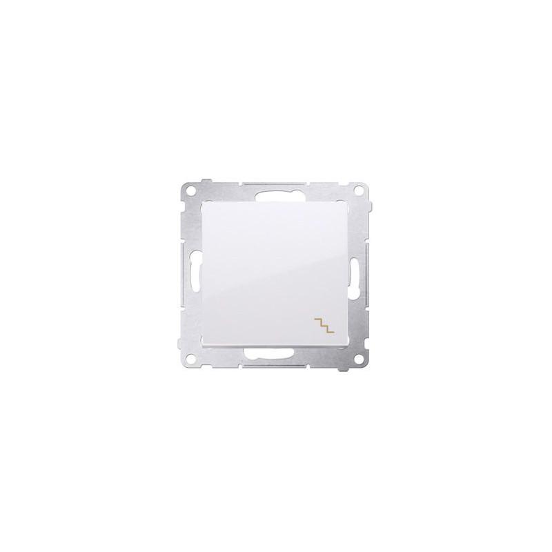7a17b5b2bd5f8 Biały włącznik schodowy 16AX DW6A.01 11 Simon 54 Kontakt-Simon