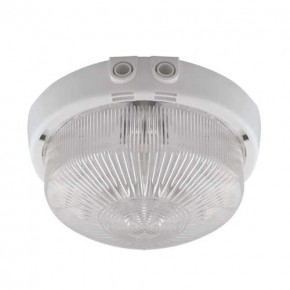 Oprawy-led-zewnetrzne - plafoniera na zewnątrz o maksymalnej mocy 100w biała e27 ip44 monat 02393 ideus