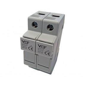 Wylaczniki-nadpradowe-bezpieczniki - podstawa bezpiecznikowa pv 32a 1000v 2p vcx