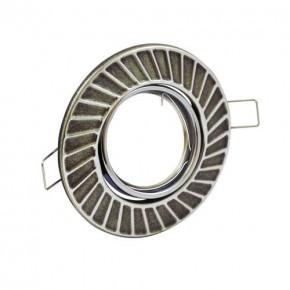 Oprawy-sufitowe-ruchome - oprawa sufitowa podtynkowa ruchoma srebrny antyczny fobos 7805 310248 polux