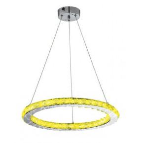 Lampy-sufitowe - lampa wisząca sufitowa led okrągła z pilotem+sterownik rgb 12w lords 31-63113 candellux