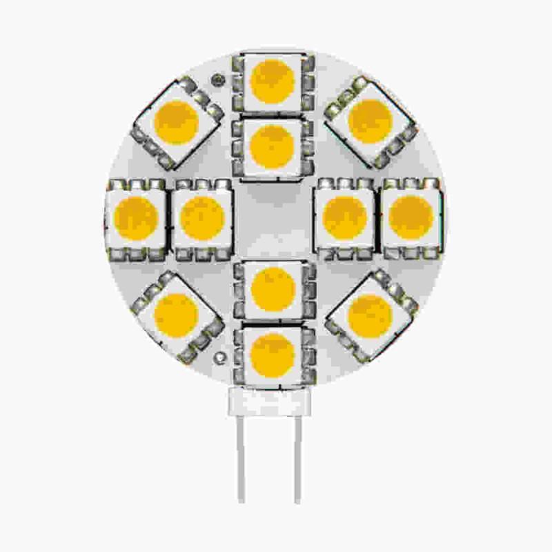 Gwint-trzonek-g4 - żarówka led12 talerzykowata g4 12v 1,5w 130lm 3000k 8951 kanlux firmy KANLUX
