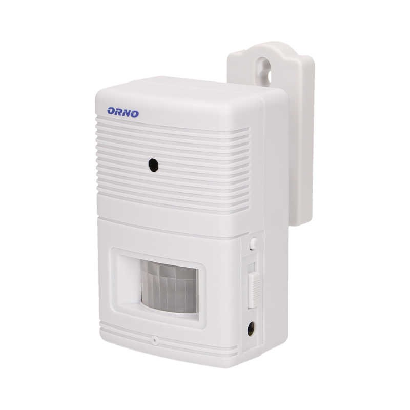 Czujniki-ruchu - czujnik ruchu na baterie z sygnalizacją i alarmem 4-5m or-ma-701 orno firmy ORNO