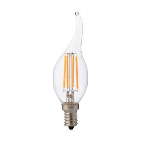 Gwint-trzonek-e14 - żarówka led płomień świeczka  neutralna e14 4w 02997 ideus