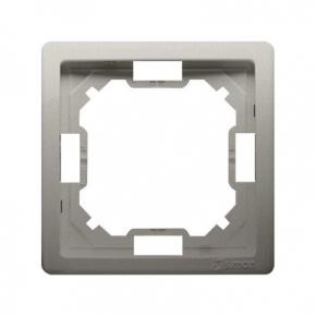 Ramka pojedyncza satynowa BMR1/29 Simon Basic Standard Kontakt-Simon