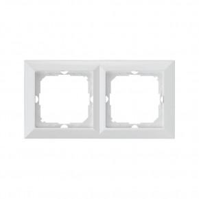 Ramki-podwojne - biała podwójna ramka ra-2p perła abex