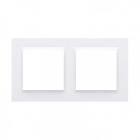 Ramka 2-krotna biała CR2/11 Simon 10 Kontakt-Simon